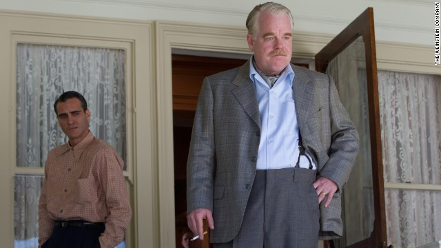 "<strong>""The Master"" (2012)</strong> - Joaquin Phoenix and the late Philip Seymour Hoffman star in this drama about a veteran with post-traumatic stress disorder who links up with a charismatic religious leader. (Netflix)"