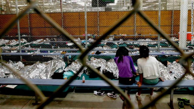 Temporary relief for flood of children at U.S.-Mexico border