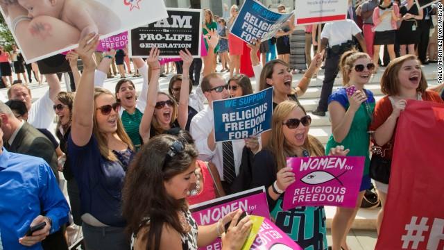 Corte Suprema de EE.UU. permite a empresas negar métodos anticonceptivos