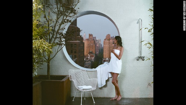 The Maritime Hotel is one of New York City's most unique spots, with 1960's modeled architecture that remains timeless.