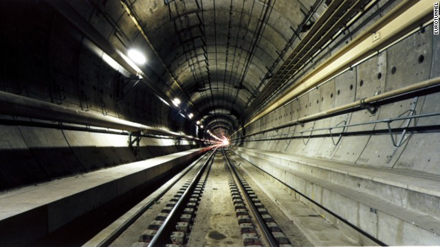 """The Channel Tunnel fundamentally changed the geography of Europe and helped to reinforce high speed rail as a viable alternative to short-haul flights,'' says Matt Sykes, tunnel expert and director at engineering firm Arup. <strong>Length: </strong>50 kilometers"