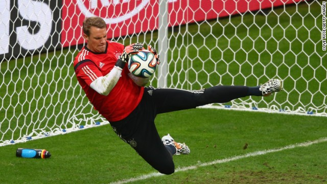 Manuel Neuer: Doing the job for the current German team
