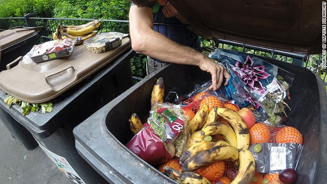 Dubanchet hopes his garbage-fueled voyage will help highlight the issue of food waste. He says Western countries needlessly throw away huge quantities of salvageable produce.