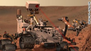 Driving NASA's Curiosity rover