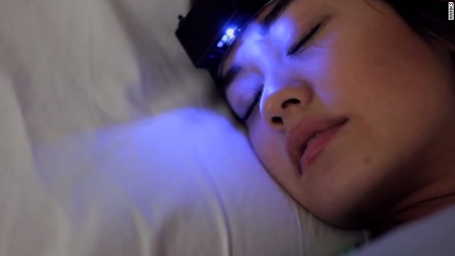 The Aurora headband from <a href='https://iwinks.org/' target='_blank'>iWinks</a> promises to help users access lucid dreams by prompting them in their REM phase of sleep.