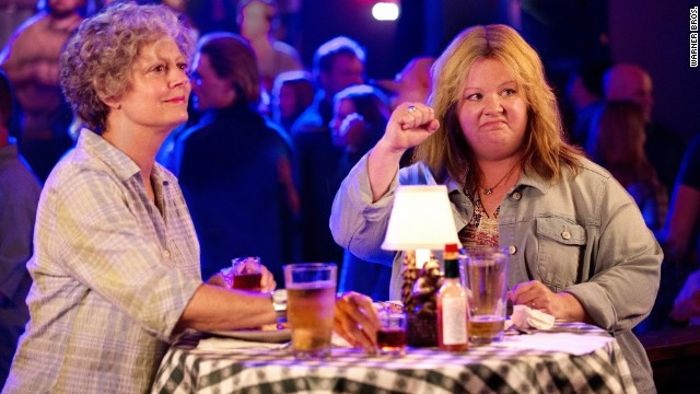 Susan Sarandon and Melissa McCarthy play a grandmother and granddaughter in the comedy