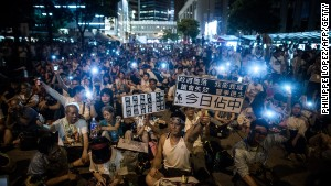 Will protest shape HK future?