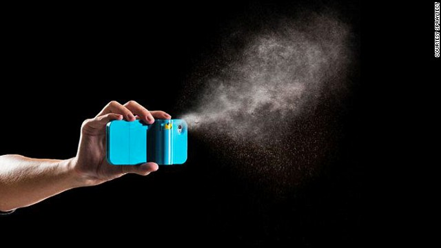 <a href='http://spraytect.com/products/' target='_blank'>Spraytect's</a> pepper-spray case is currently available in a variety of colors for iPhone 4 and 4S, and will soon be offered for the newer models. Company founder Scott McPherson said he created this with his college-bound daughter's safety in mind.