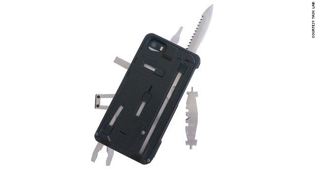 With 22 different tools, TaskLab's<a href='http://thetasklab.com/task-one-multi-tool-case' target='_blank'> TaskOne G3 </a>multi-tool case is perfect for both outdoor and gadget aficionados. There's even a mount for attaching reciprocating saw blades, in case the included knife isn't enough for you.