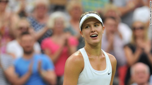 Eugenie Bouchard reached the semifinals of the Australian and French Opens earlier this year.