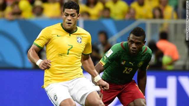 Hulk is another Brazilian forward who has had a relatively quiet tournament but his wrongly disallowed goal against Chile showed what he is capable of.