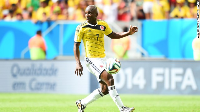 Pablo Armero spent the last six months on loan at West Ham United and made only five appearances, but his performances at this World Cup have been a revelation.