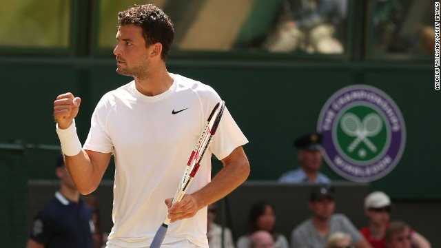 Dimitrov, ranked 13 in the world, made a fast start and took the opening set 6-1.