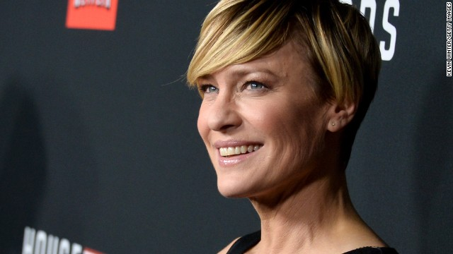 "These days Wright (she dropped the Penn after a divorce) is best known for her role as Claire Underwood in the critically acclaimed Netflix series ""House of Cards."" She has also ventured behind the scenes and directed a season two episode of ""House of Cards."""