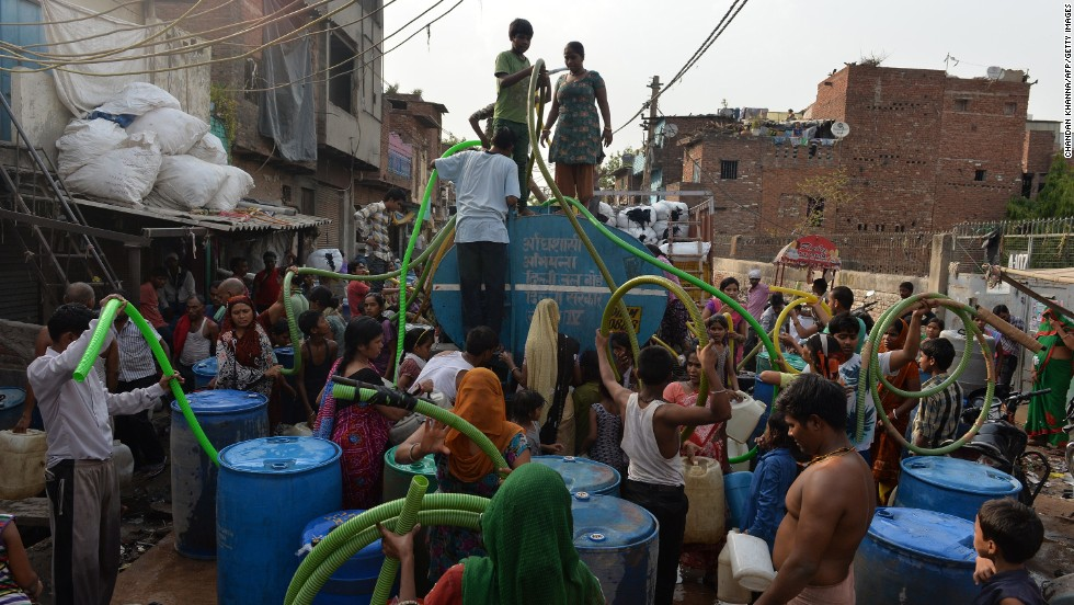 Water Shortages In India Cnn Com