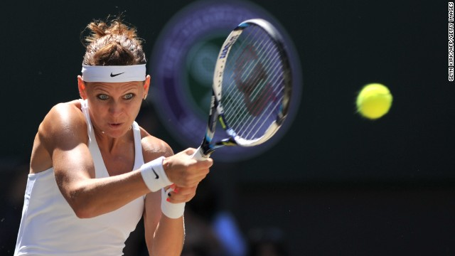 Safarova was playing in her first-ever grand slam semifinal and rarely troubled Kvitova.