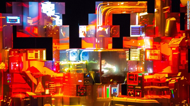 "Brazilian electronic music artist, Amon Tobin performs 2011 album ""ISAM"" live. The ""Sound and Vision"" section of the show looks at how musicians have experimented with digital technology."
