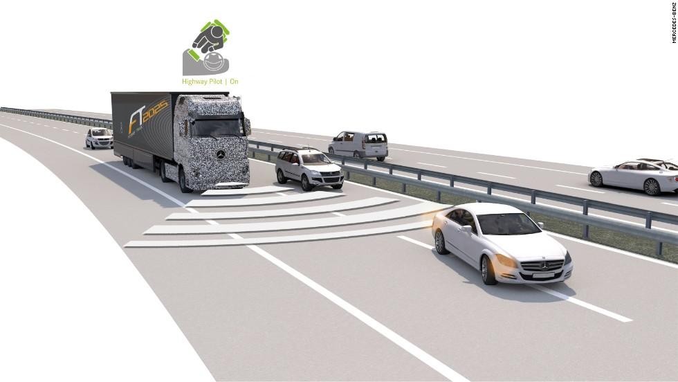 El camión del futuro de Mercedes-Benz