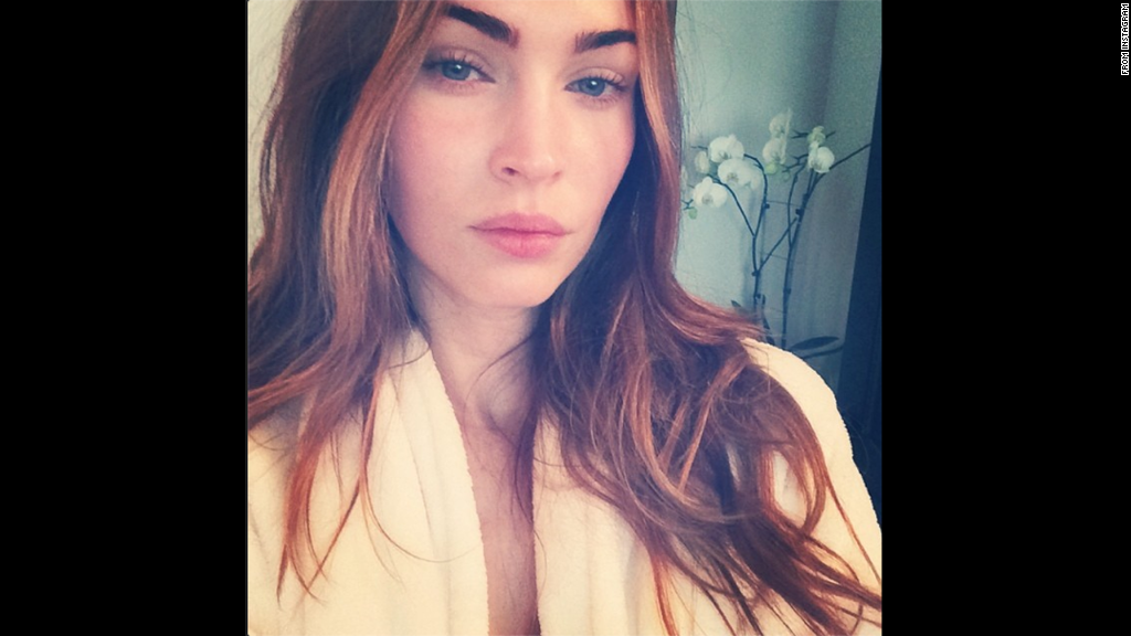 Megan Fox is an Instagram newbie, but she already has a knack for taking selfies. <a href='http://instagram.com/the_native_tiger' target='_blank'>The star shared her first Instagram self-portrait</a> -- and her second post to the site overall -- on July 3, telling her fans that although the photo was captured in the early morning without makeup, she definitely used a filter. Click through the gallery to see other stars who've gone makeup-free.