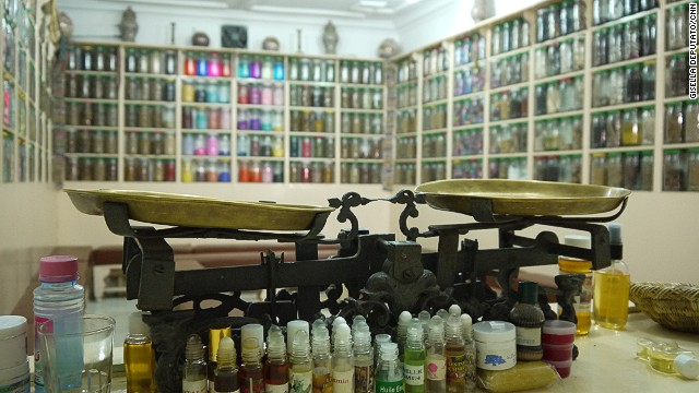 Traditional medicine shops can still be found in the old medina, crammed with powders and potions for curing all manner of ailments.