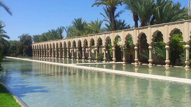Another luxury hotel, this one on the way from Marrakech to the Atlas Mountains, the Namaskar is an oasis-style spa retreat that regularly tops best-in-Africa lists.