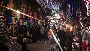 Marrakech\'s answer to the mall.
