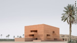 Marrakech\'s MMP+ museum.
