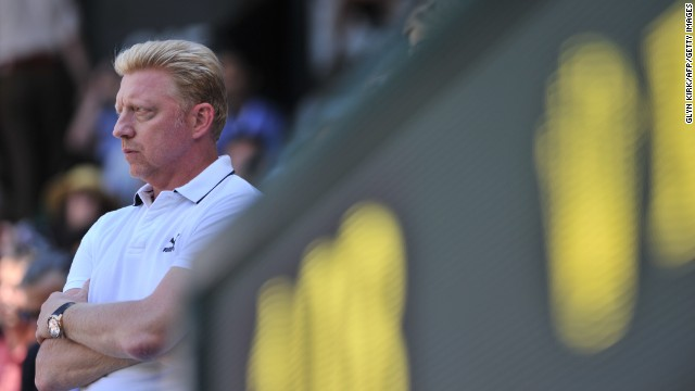 Boris Becker, a former Wimbledon champion himself, has been coaching Novak Djokovic since December 2013.