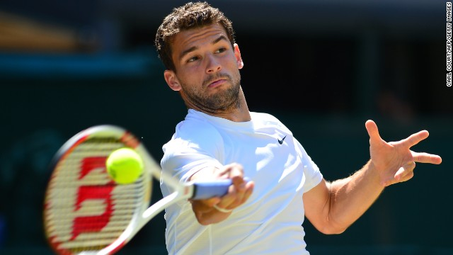 The 23-year-old struggled in the opening set with Djokovic dominating proceedings. The Serb star, ranked second in the world, took the set 6-4 in 27 minutes to take control of the contest.