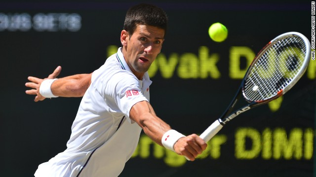Djokovic, who was taken to five sets in his quarterfinal by Croatia's Marin Cilic, recovered in the third set. The six-time grand slam champion won it on a tiebreak 7-2.