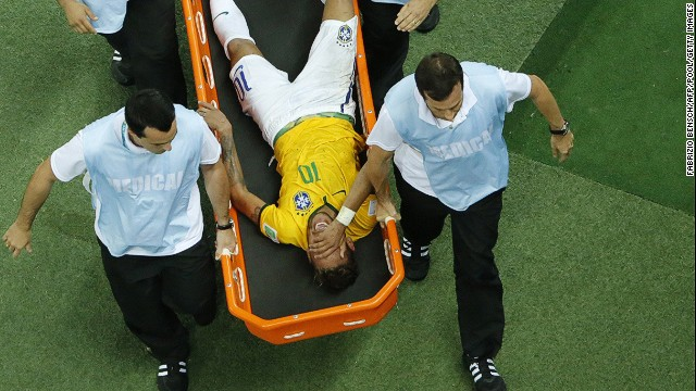 Neymar fractured a vertebra during his side's 2-1 quarterfinal win in Fortaleza. The 22-year-old talisman had scored four goals in five matches. Will Brazil have enough firepower without their 22-year-old talisman?