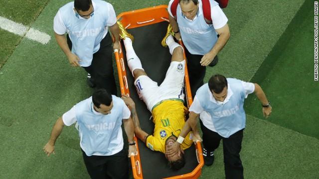 Neymars Injury Tough Blow For Brazil