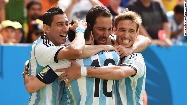 Cuartos de final: Argentina - Bélgica