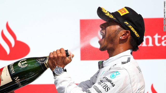 Hamilton savors his 27th career victory and second triumph in his home grand prix.