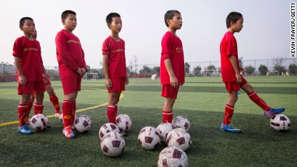 Why does China struggle with football?