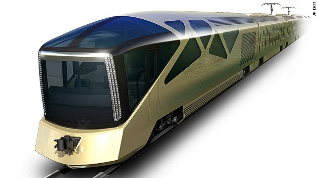 Japan Rail East has called on Ferrari designer Ken Okuyama to create a 34-passenger luxury train. It will have only 10 carriages, including two glass-walled observation cars.