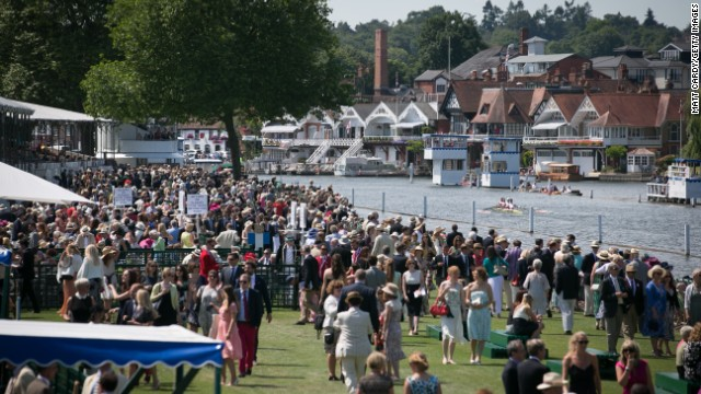 """Spectators visit for both the sporting and social aspect of the event. It is part of the """"English Season"""" along with the likes of Royal Ascot, Glorious Goodwood and Wimbledon."""