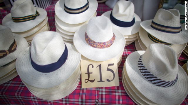 """While wearing a hat is not a requirement for gentlemen, they do prove very popular each year. Despite not being a requirement for ladies either, it is """"customary"""" for them to wear hats."""