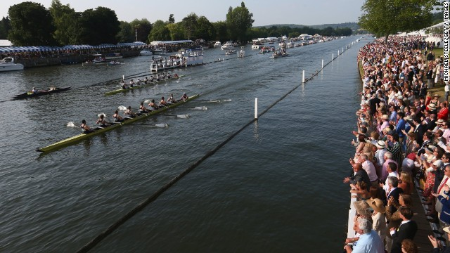The rowing regatta started in 1839 and has gone from strength to strength ever since, with thousands visiting each year to be part of the action.