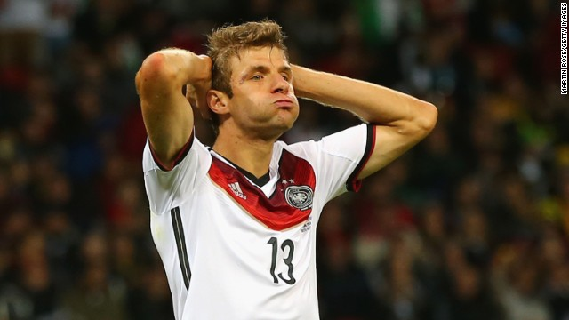 Thomas Muller is still only 24 years old but has already scored 21 times in 54 appearances for Germany. He was the winner of the Golden Boot in South Africa in 2010 and has scored four in five matches in Brazil.