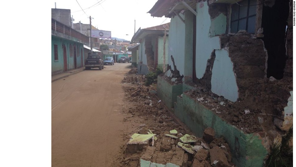 Sismo causa daños en Guatemala