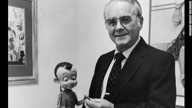 <a href='http://www.cnn.com/2014/07/08/showbiz/pinocchio-voice-actor-dead/index.html'>Richard Percy Jones</a>, the actor who gave Pinocchio his voice in the 1940 Disney movie, died at his California home on Monday, July 8. He was 87.