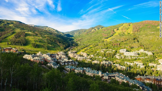 No need to leave the country. The Colorado town of Beaver Creek provides a relaxing, romantic atmosphere that's second to none. Make sure to visit a Beaver Creek spa as well.