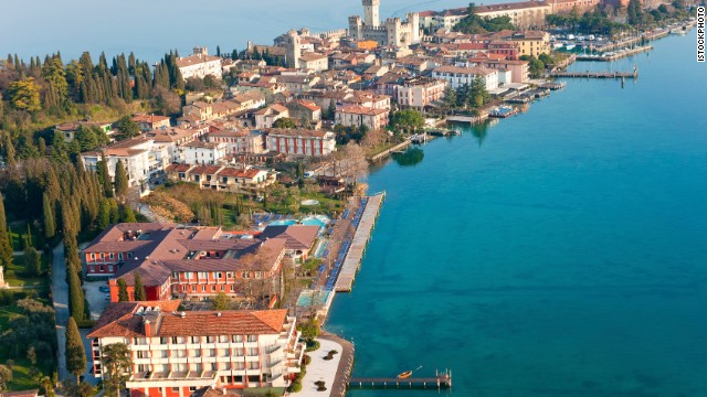 With ruins galore, Lake Garda in Italy is the perfect city for a hand-in-hand stroll on a cobblestoned Roman street.