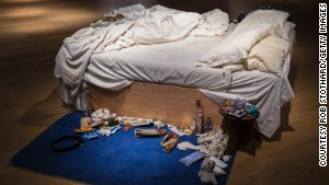 An unmade bed worth $4 million
