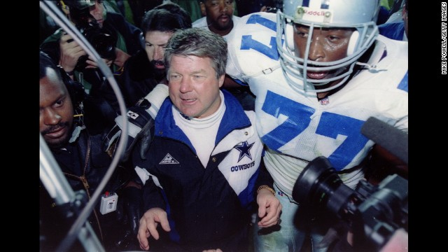 Cowboys vs. Bills: The biggest beatdown in a Super Bowl came in 1990, when San Francisco dismantled Denver 55-10. But the 49ers were heavy favorites. Las Vegas was expecting a good show out of Dallas and Buffalo in 1993. Not only did the Cowboys win Super Bowl XXVII 52-17, they followed it up with a 30-13 thrashing in the following year's Super Bowl rematch.