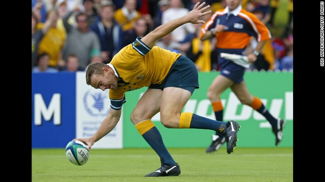 "Australia vs. Namibia: The Aussies missed a scoring record by three points. That was likely no consolation to the Namibian squad, which was hammered 142-0 in the 2003 Rugby World Cup. Australia tallied 22 tries, which is similar to a touchdown in American football. The Namibians ""barely made a tackle, failed to compete at the setpiece or breakdown and never once threatened to score,"" CNN reported at the time."