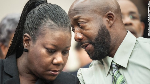 "Sybrina Fulton and Tracy Martin, Trayvon Martin's parents, have been actively engaged in working to change ""stand your ground"" laws and speaking to groups and conventions around the country about ethnic profiling and prevention of violent crimes. They established a foundation in their son's name, which provides stipends to families who have lost children to gun violence."
