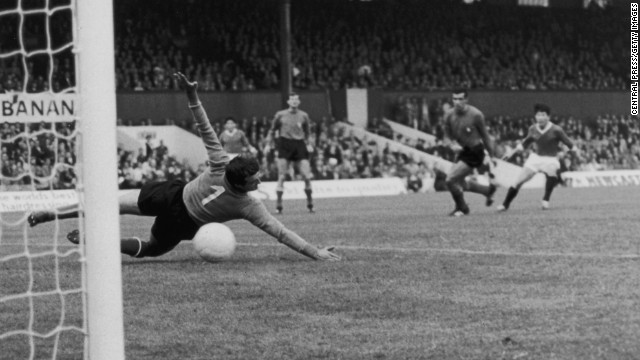 """North Korea 1-0 Italy (1966): North Korea's players were almost denied visas to compete at the 1966 World Cup, but they stunned Italy 1-0 with a goal from Pak Doo Ik and made it all the way to the quarterfinals. Dubbed """"The Mystery Men"""" by the British media, due to the communist nation's secretive policies, the team's unlikely exploits were later turned into a documentary called """"The Game of Our Lives."""""""