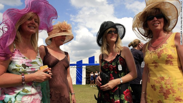 The Henley Royal Regatta is one of the English social calendar's key events. As so often on these occasions, hats are de rigueur.